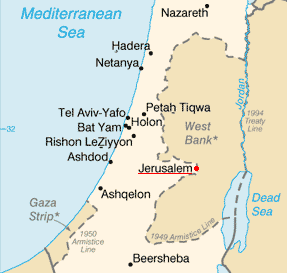 Jerusalem_Israel_Map